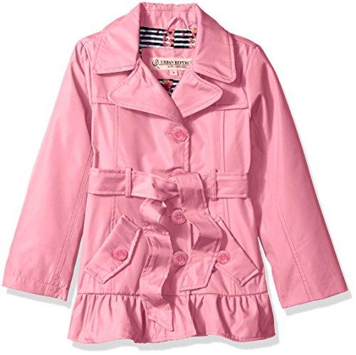 Urban Republic Ruffle Trench Jacket