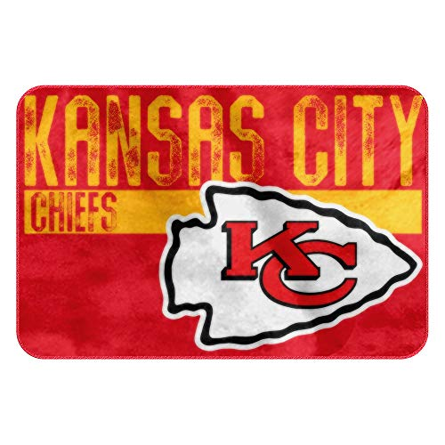 The Northwest Company NFL Kansas City Chiefs Embossed Memory Foam Rug, One Size, Multicolor