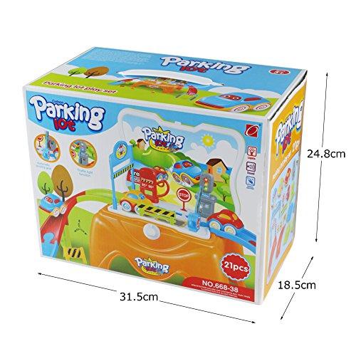 Voiture Parking Dans Jouet Enfant Miniature Garage Voitures Avec W29YEDeHI