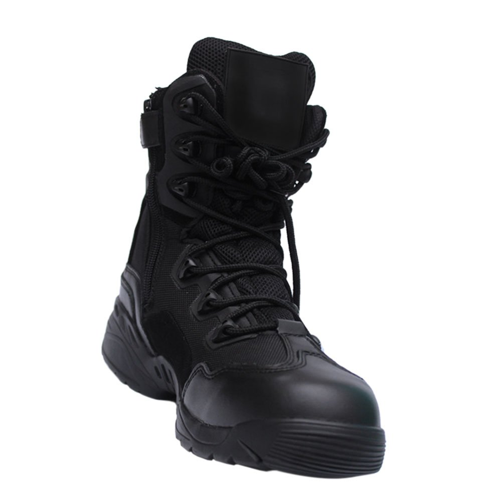 Haodasi Jagd Stiefel Tactical Stiefel Security Einsatzstiefel Trekking-Schuh Wanderschuh Bergschuh Outdoorschuh
