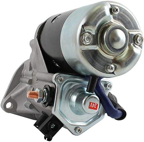 DB Electrical SND0754 Starter for Komatsu Wheel Loader WA120,WA180,WA250 WA253 4B