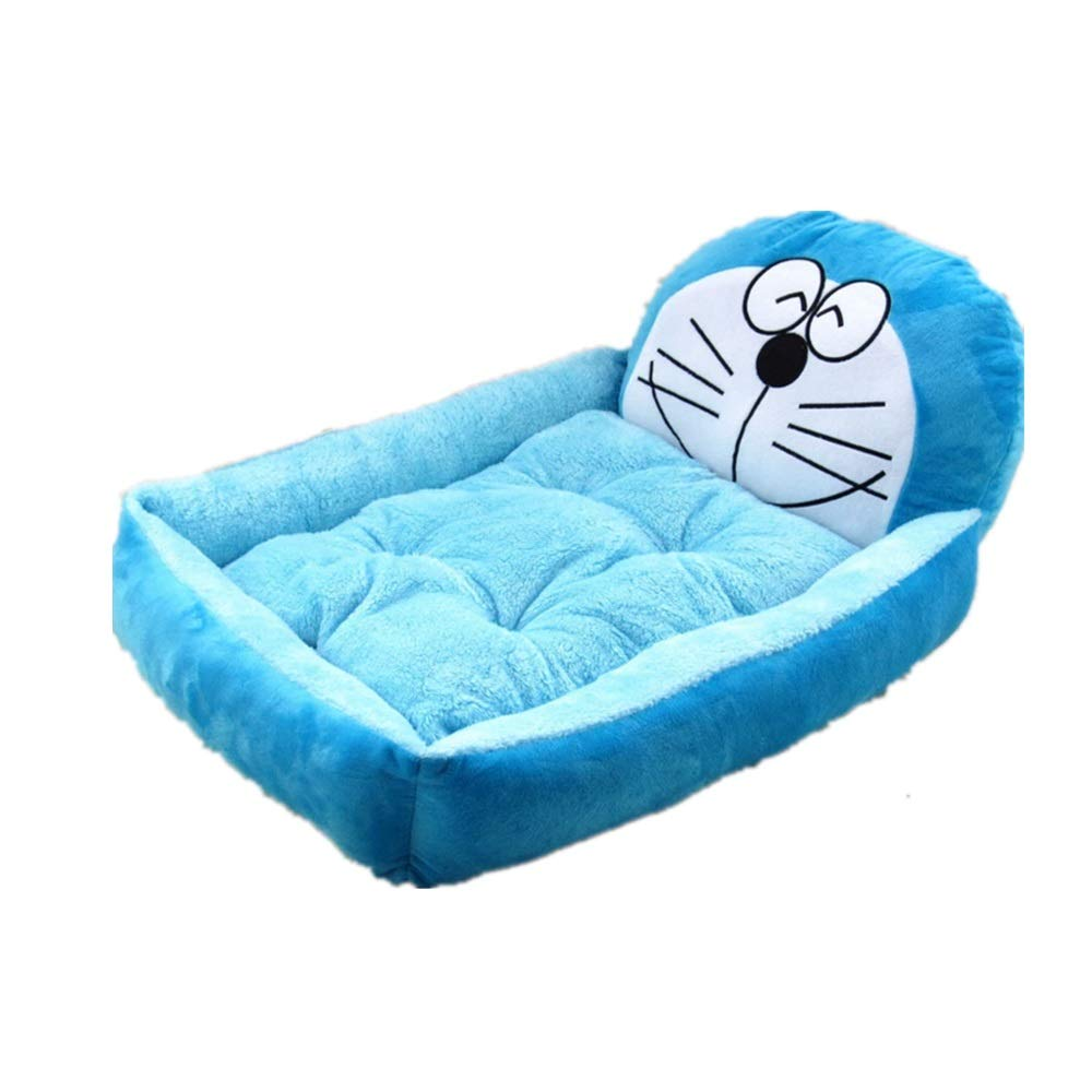 Dog Bed Removable and Washable Teddy Cartoon pet nest Pet Supplies Large Dog golden Retriever Dog Bed mat