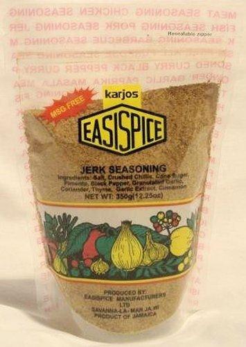 karjos Easispice Jerk seasoning 12oz (6 pack) by Karjos