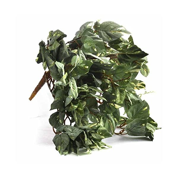 Factory-Direct-Craft-Group-of-3-Cascading-Artificial-Flocked-Pothos-Ivy-Vine-Bush-for-Home-Decor-and-Displaying
