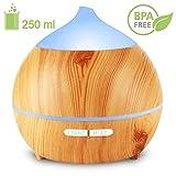Holan Essential Oil Diffuser for Bedroom, Nursery , Desk,Home, Office, Yoga Room,or Studio