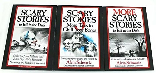 (Scary Stories to Tell in the Dark Series: More Scary Stories to Tell in the Dark; Scary Stories to Tell in the Dark 3 (Book sets for Kids: Grade 3)