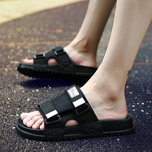 pantofole marea da uomo numero sandali antiscivolo uomo e 2 da una uomo WFL parola trascinare scarpe sandali all'aperto moda spiaggia da usura estate Pantofole 1wOqx45v