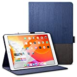 "ESR for iPad 10.2 Case, Urban Premium Folio Case for iPad 7th Generation 10.2"" 2019, [Built-in Pencil Holder] [Book Cover Design] [Multi-Angle Viewing Stand] [Auto Sleep/Wake], Knight"