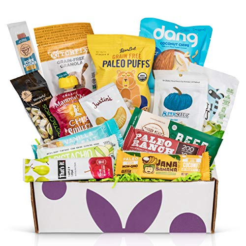 PALEO Diet Snacks Gift Basket