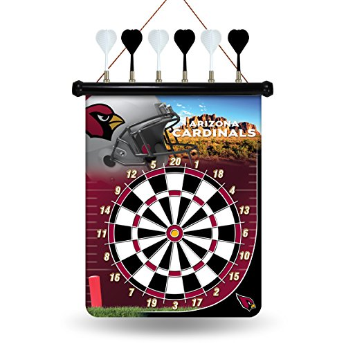 NFL Arizona Cardinals Magnetic Dart Board