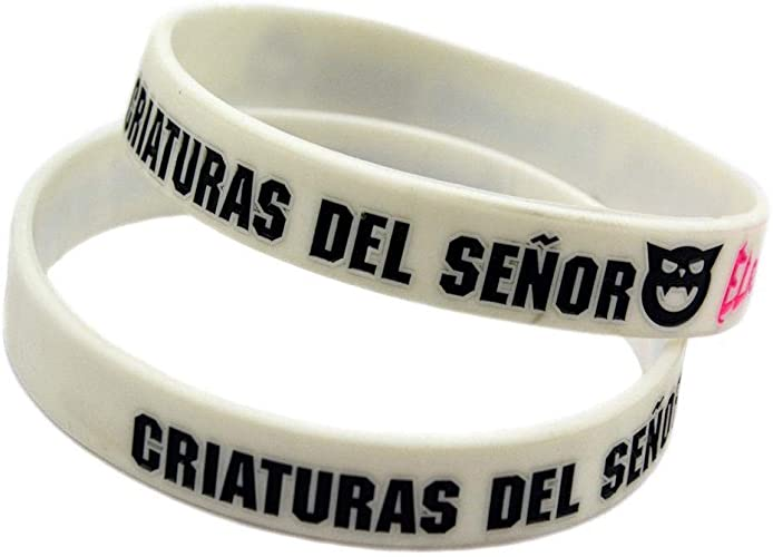 católico digerir jurar  Vempires Pulseras De Silicona Para Hombre Fitness Wristbands Banda Musical  Rubius Omg 10 PCS: Amazon.es: Joyería