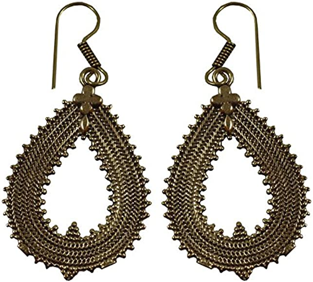 2109 Womens Earrings Beautiful Fashionable Brass Earrings For Girls HB