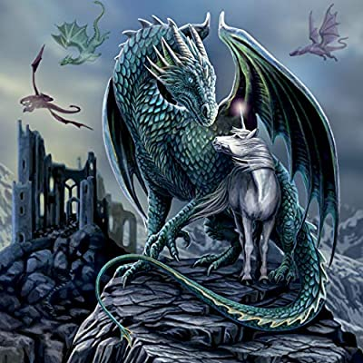 Fantasy - Protector of Magick Jigsaw Puzzle, 750 Pieces: Toys & Games