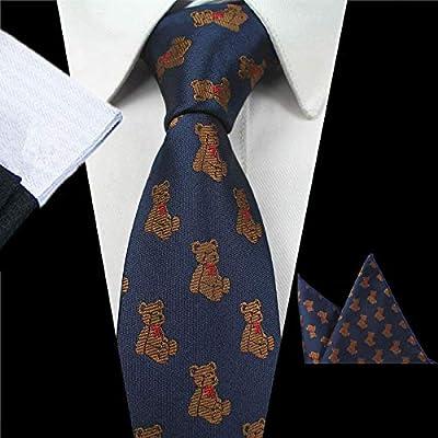 LLZGPZLD Corbata/Animal De Diseño Corbata para Hombres De Moda ...