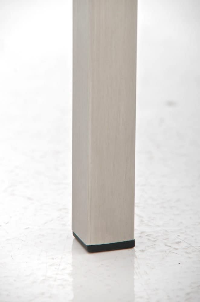 H 45 cm Panchina Sala Attesa Blu Panchina Ingresso Elegante in Acciaio Inox CLP Panca Design Interno 3 Posti LAMEGA in Similpelle 120 x 40 cm