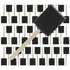 US Art Supply 2 inch Foam Sponge Wood Ha...