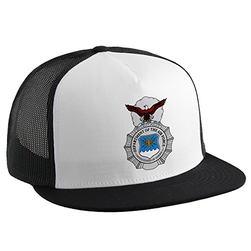 Trucker Hat with U.S. Air Force Security Forces (AFSC), badge