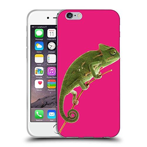 "GoGoMobile Coque de Protection TPU Silicone Case pour // Q05680616 caméléon Bright Pink // Apple iPhone 6 4.7"""