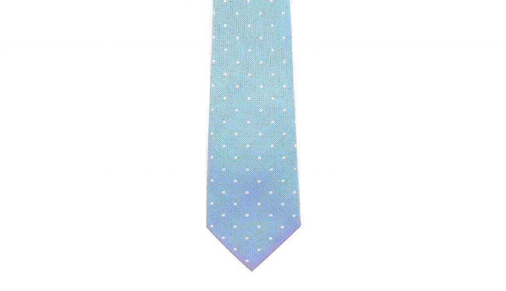29f19e2dd852 Baby Blue Spotted Silk Tie by DEBONAIR: Amazon.co.uk: Clothing