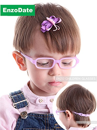 Amazon.com: EnzoDate Baby Girl\'s Boy\'s Glasses with Cord Size 42/16 ...