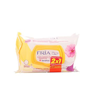 FRIA papel higienico humedo 2x50