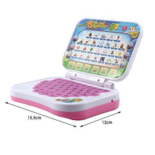 SOULONG Ordinateur Portable Jeu Enfant Ordinateur P/édagogique dapprentissage Bilingue