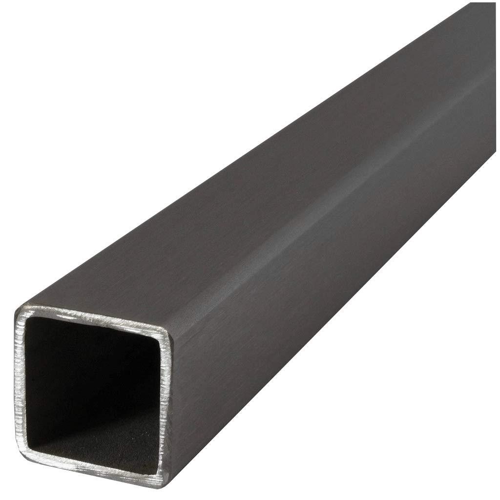 Tubo cuadrado de acero inoxidable V2A, cualquier longitud, a la medida deseada, 0100, 25 x 25 x 2 mm, 1