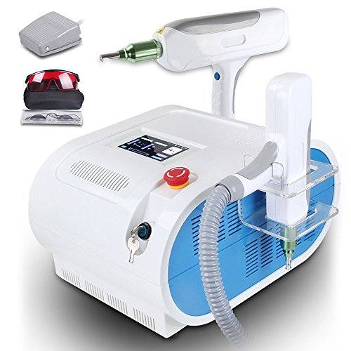 Tattoo Eyebrow Removal Beauty Machine Q Switch With Red Light 1 Year Warranty Elitzia ETLS50V