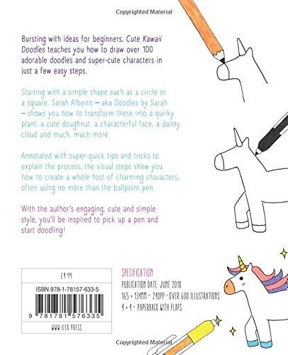 Cute Kawaii Doodles Amazon Co Uk Sarah Alberto 9781781576335 Books