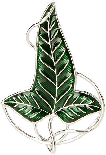 (The Noble Collection Lord of The Rings: LóRien Leaf Brooch)