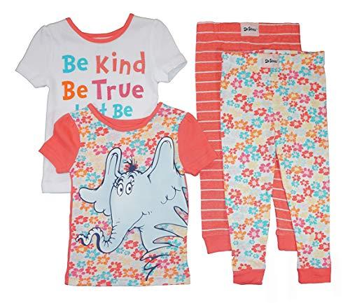 Dr. Seuss Little Girls' Toddler Be You Four-Piece
