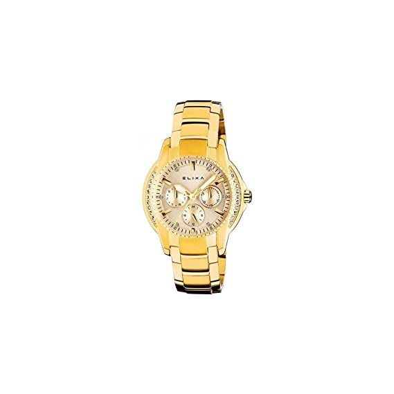 Elixa Reloj Mujer Elixa E066-l213 (39 Mm): Amazon.es: Relojes