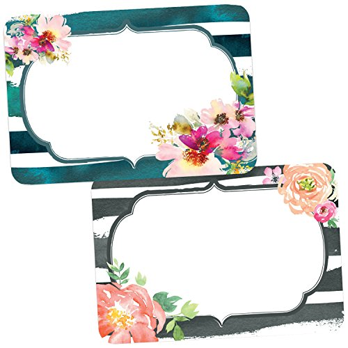 Avery Premium Bridal Shower and Baby Shower Name Tags, No Lift No Curl, 36 Handwriteable Name Stickers -