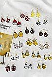Generic Japan and South Korea cute animal cartoon fun fruit earrings women girls lady temperament simple earrings earrings earrings Xia Jiqing new