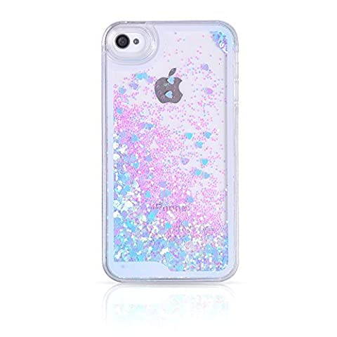 iPhone 4S Case,iPhone 4S Liquid Case,Ruky Flowing Liquid Floating Fashion
