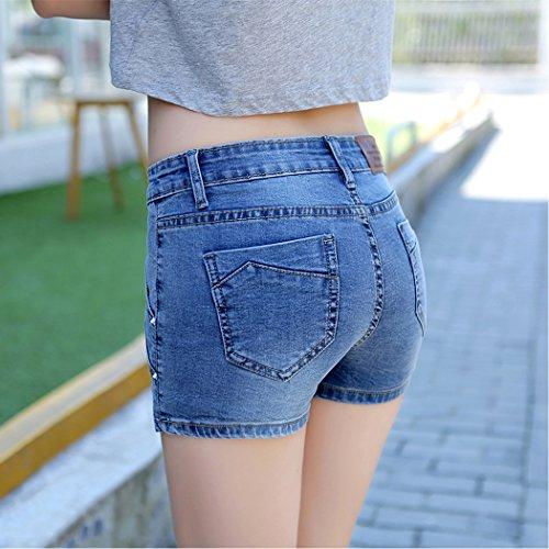 Gonna Gonna Denim Casual Blu di Jeans Estate ShePretty Navy Blu Scuro Mini Donne UXq8xEWBR