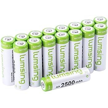 Amazon.com: Energizer AA Rechargeable batteries NiMH 2300