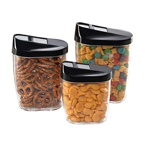 (Airtight Food Storage Kitchen and Pantry Containers, BPA Free, Set of 3)