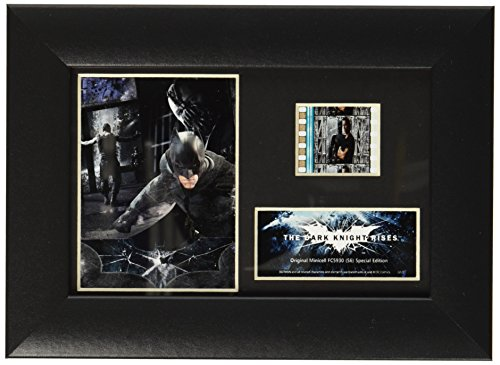 Filmcells Batman The Dark Knight Rises Minicell Framed Art (S6) (Batman Black Knight Rises)
