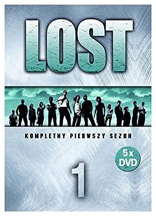 Lost Season 1 BOX 5DVD Region 2 English audio  English subtitles by