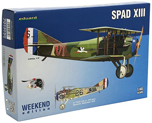 Eduard Models 1/48 SPAD XIII Weekend Edition Model Kit from Eduard Models
