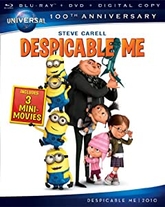 Cover Image for 'Despicable Me [Blu-ray + DVD + Digital Copy] (Universal's 100th Anniversary)'