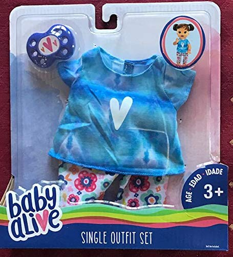 Baby Alive Single Outfit Set - Tie Dye Tee, Multicolor