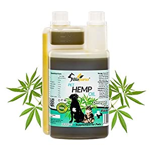 Biopurus Pure Natural Pets Hemp Seed Oil For Dogs ...
