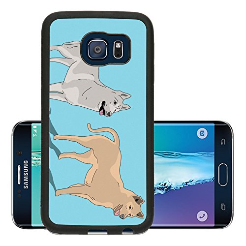 luxlady-premium-samsung-galaxy-s6-edge-aluminum-backplate-bumper-snap-case-image-21509796-two-dog