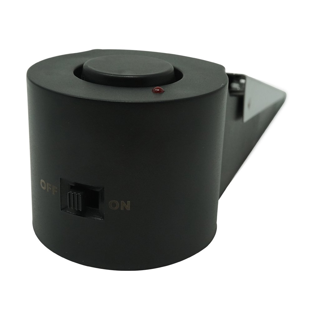 4/Vwin fermaporta cuneo fermaporta di sicurezza domestica allarme allarme con 120dB per appartamenti di sicurezza viaggio garage casa hotel Shop 9.00V