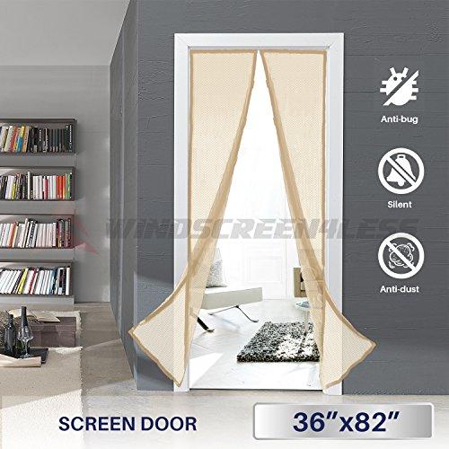 Windscreen4less Magnetic Screen Door Through