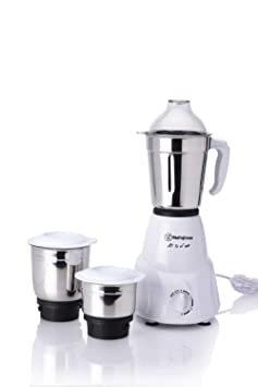 Westinghouse Elegant Compact MC45B3A-DR 450-Watt Mixer Grinder with 3 Jars (White) Mixer Grinders at amazon
