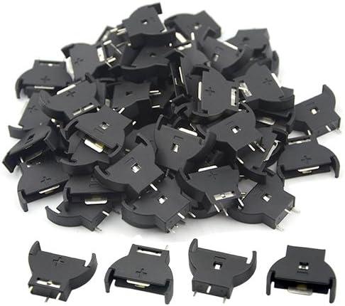 10PCS Plastic Housing CR2032 Button Cell Battery Socket Holder Cass4