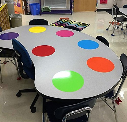 Dry Erase Circles (Yellow)